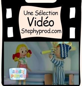Vidéo Andy Pandy, L'Habitant de la Lune, Saison 1 épisode 5 pour les enfants et les bébés.