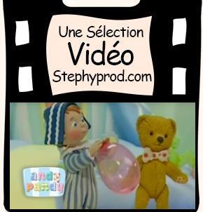Vidéo Andy Pandy, Le Ballon, Saison 1, épisode 2 pour les enfants et les bébés.