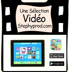Vidéo Appli Potati - Test - iPad / Android pour les enfants et les bébés.