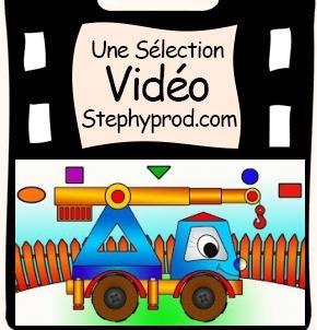 Vidéo Dessin animé éducatif enfants, construisons une grue ! pour les enfants et les bébés.