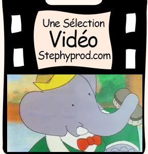 Vidéo Babar pour les enfants et les bébés.