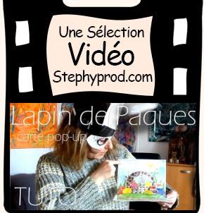 Vidéos Activite manuelle. Sélection Stephyprod pour les enfants et la famille.