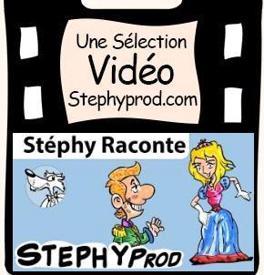 Vidéo Conteur pour enfants, Stéphy raconte Cendrillon pour les enfants et les bébés.