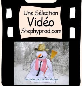Vidéo Chanson un bonhomme de neige est né pour les enfants et les bébés.