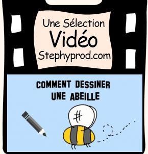 Vidéo Comment dessiner une abeille pour les enfants et les bébés.
