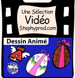 Vidéo Comptine de Pâques en dessin animé, Boum bing bang c'est Pâques pour les enfants et les bébés.