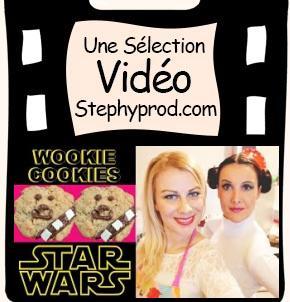 Vidéo Cookies star wars, un gâteau facile et rapide au chocolat pour les enfants et les bébés.