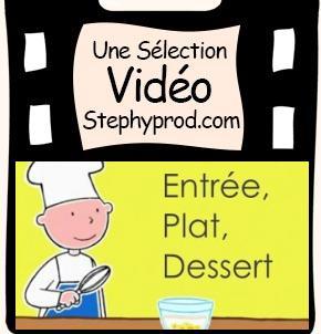 Vidéo La cuisine est un jeu d'enfant, un menu complet pour les enfants et les bébés.