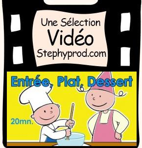 Vidéo La cuisine est un jeu d'enfant, un menu simple à réaliser pour les enfants et les bébés.