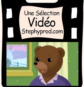 Vidéo Dessin animé Le Noël de Petit Ours Brun pour les enfants et les bébés.