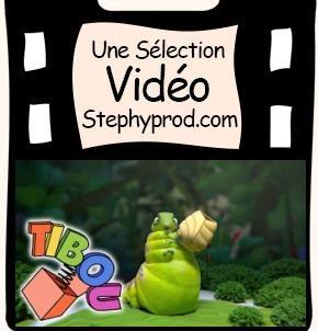 Vidéo Dessin animé 3D, la métamorphose de la chenille pour les enfants et les bébés.