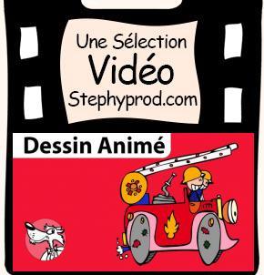 Vidéo Au feu les pompiers, dessin animé musical pour les enfants et les bébés.