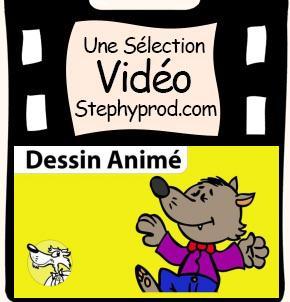 Vidéo Chanson Le Loup Sympa dessin animé musical pour les enfants et les bébés.