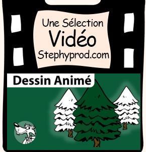 Vidéo Chanson Mon beau Sapin, dessin animé de Noël pour les enfants et les bébés.