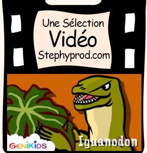 Vidéos Dinosaures. Sélection Stephyprod pour les enfants et la famille.