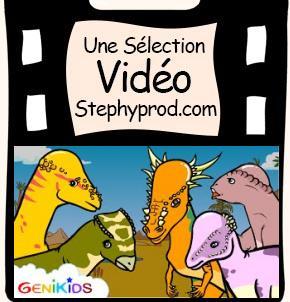 Vidéo Pachycéphalosaures, dessin animé éducatif sur les dinosaures pour les enfants et les bébés.
