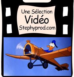Vidéo Dessin animé Disney Donald Duck - La Machine Volante Donald pour les enfants et les bébés.