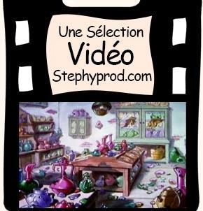 Vidéo Dessin animé Disney - Le Magasin de Porcelaine de Chine pour les enfants et les bébés.