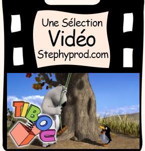 Vidéo Dessin animé La balançoire, une histoire de Bernard l'ours pour les enfants et les bébés.