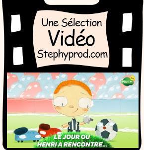 Vidéo Dessin animé Le jour ou Henri a rencontré un ballon de foot pour les enfants et les bébés.