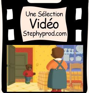 Vidéo Dessin animé Petit Ours Brun est prêt pour Noël pour les enfants et les bébés.