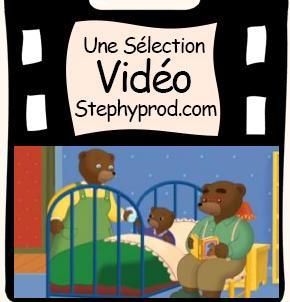Vidéo Dessin animé Petit Ours Brun n'a pas sommeil pour les enfants et les bébés.