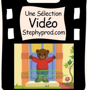 Vid o du dessin anim de l 39 histoire pour enfants dessin - Petit ours brun va al ecole ...