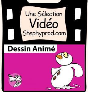 Vidéo Poésie de Noël, le bonhomme de neige pour les enfants et les bébés.