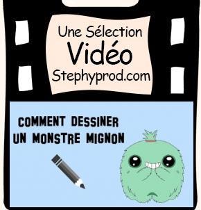 Vidéo Comment dessiner un monstre mignon pour les enfants et les bébés.