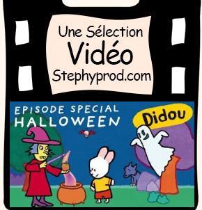 Vidéo Dessin animé Halloween, Didou, fantôme, sorcière et ogre pour les enfants et les bébés.