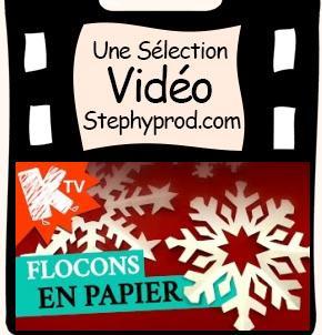Vidéo DIY pour Noël, les flocons de neige en papier pour les enfants et les bébés.