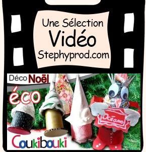 Vidéo Tutoriel de Noël, le sapin surprise en papier recyclé, une boîte cadeau pour Noël pour les enfants et les bébés.