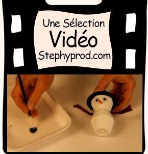 DIY pour Noël, le tutoriel le bonhomme de neige en carton