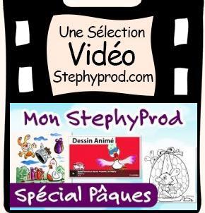 Vidéo Emission Mon Stéphyprod Spécial Pâques pour les enfants et les bébés.