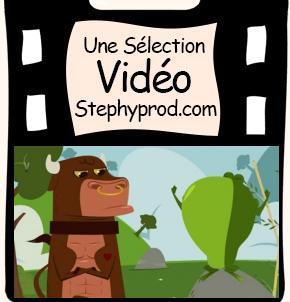 Vid o du dessin anim de la fable pour enfants la - Image la grenouille et le boeuf ...