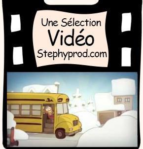 Vidéo Henri Godon - La tempête de neige pour les enfants et les bébés.