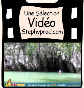 Vidéo Kids'voyage - 06 Rivière souterraine aux Philippines pour les enfants et les bébés.