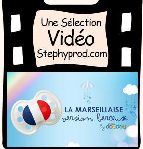 Vidéo La Marseillaise en berceuse, Allez les bleus pour les enfants et les bébés.