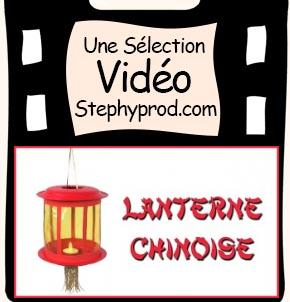 Vidéo DIY Faire une lanterne chinoise avec des assiettes en carton pour les enfants et les bébés.