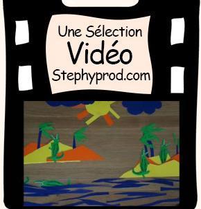 Vidéo LES CROCODILES  (comptine pour enfants en Stop Motion) pour les enfants et les bébés.