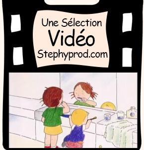Vidéo Les dents de lait pour les enfants et les bébés.