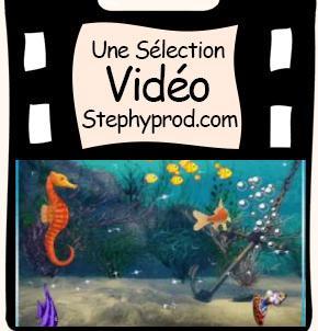 Vidéo Les petits poissons dans l'eau, Comptines Maternelles pour les enfants et les bébés.
