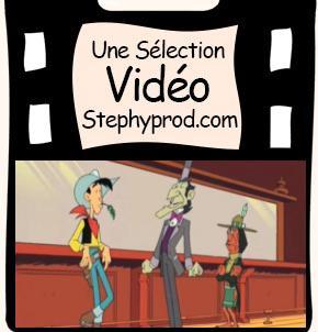 Vidéo Lucky Luke - Roulette Indienne pour les enfants et les bébés.