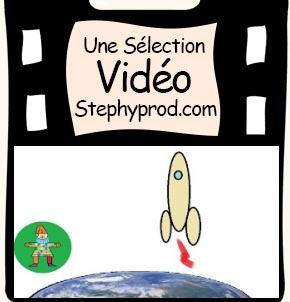 Vidéo Madame fusée, la version de la chanson de Stephy  pour les enfants et les bébés.