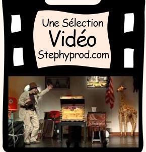 Vidéo Spectacle jeune public de Martial La Malle Enchantée pour les enfants et les bébés.