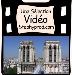 Vidéo Paris, les monuments, La cathédrale Notre-Dame de Paris pour les enfants et les bébés.