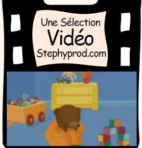 Vidéo Petit ours brun se lève tôt pour les enfants et les bébés.