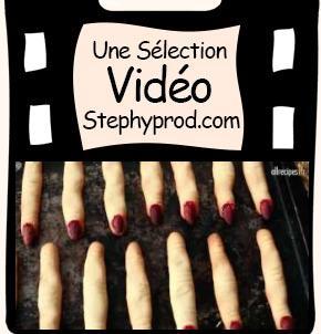 Vidéo Recette Halloween avec les enfants, les doigts de sorcière pour les enfants et les bébés.