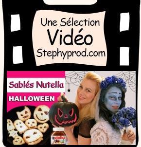 Vidéos Recette cuisine Halloween. Sélection Stephyprod pour les enfants et la famille.