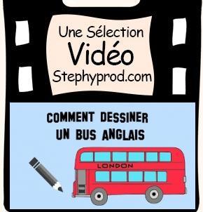 vid os enfants vid o gratuite tutoriel de dessin pour enfant comment dessiner un bus anglais. Black Bedroom Furniture Sets. Home Design Ideas
